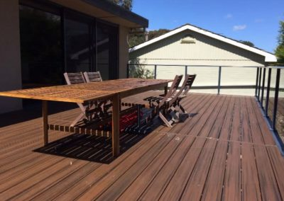 MOUNT ELIZA DECKING PROJECT
