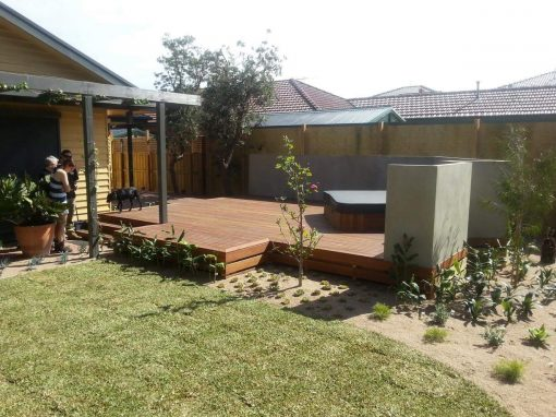 BENTLEIGH DECKING PROJECT